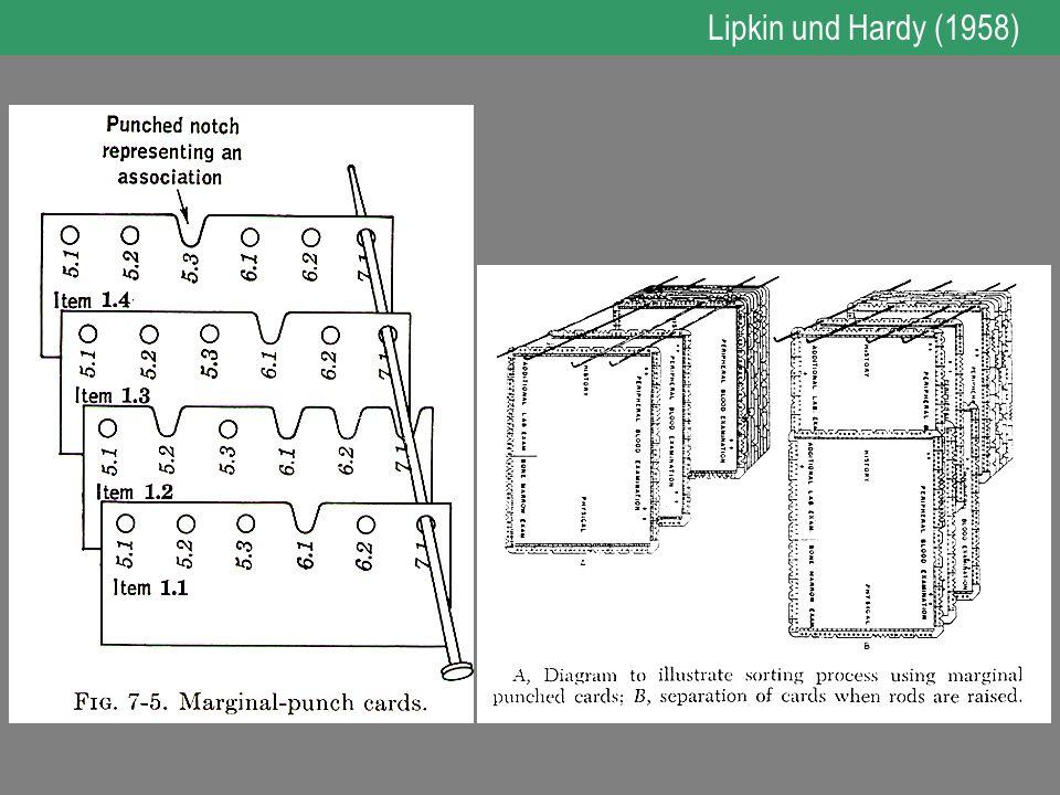 Lipkin und Hardy (1958)
