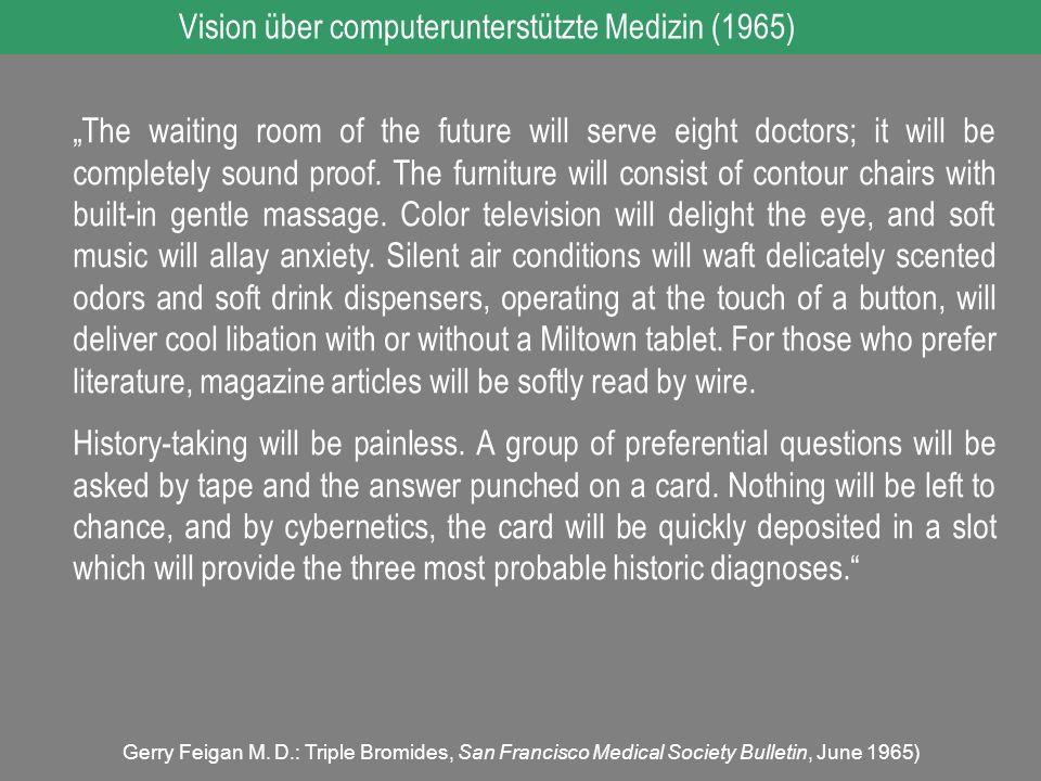 Vision über computerunterstützte Medizin (1965)