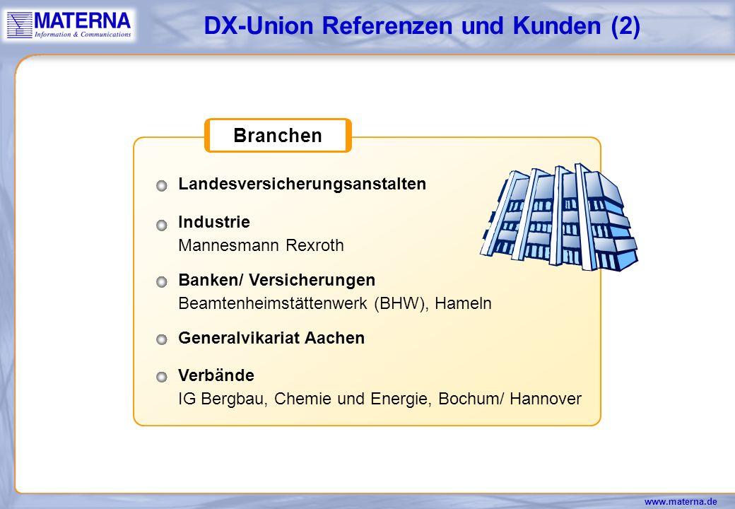 DX-Union Referenzen und Kunden (2)