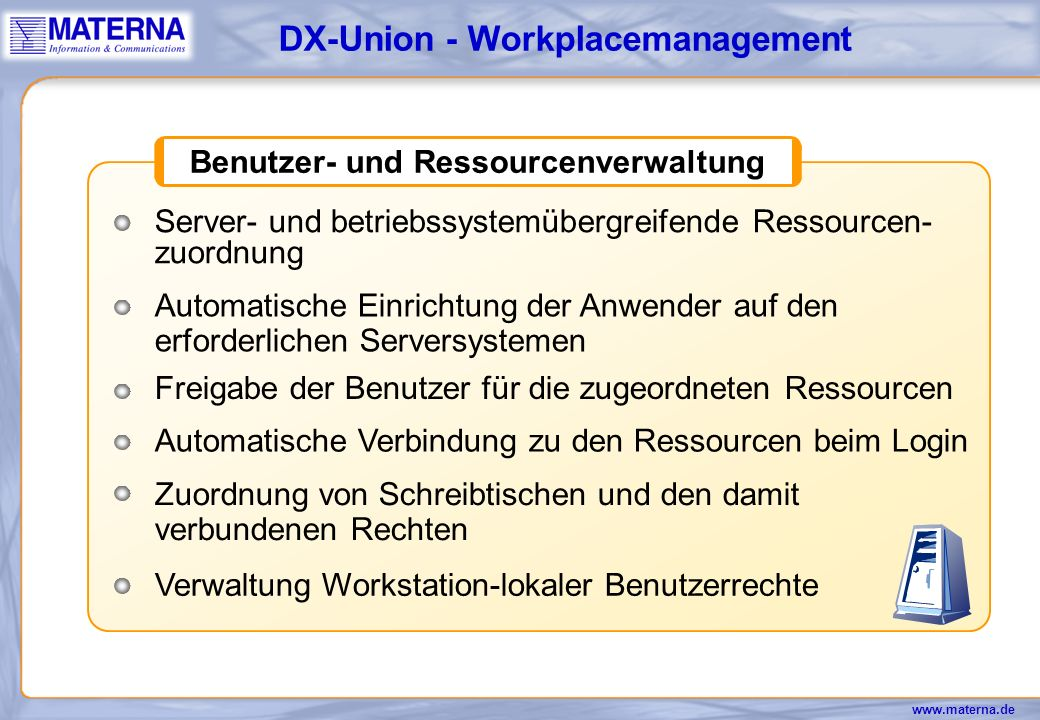 DX-Union - Workplacemanagement