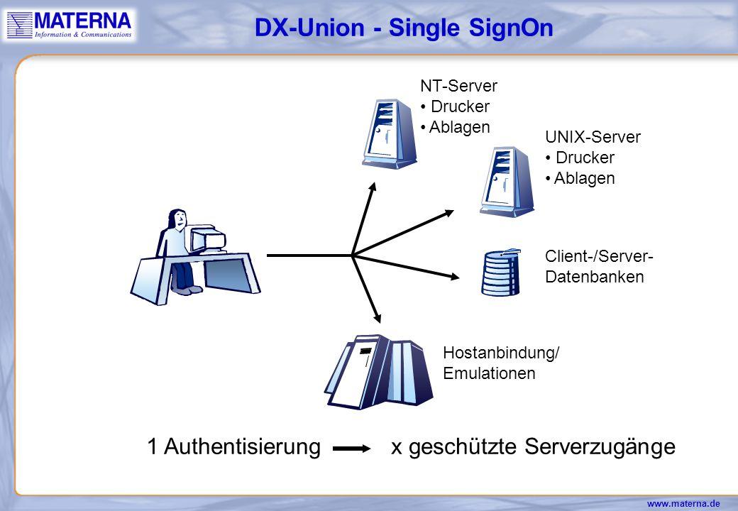 DX-Union - Single SignOn
