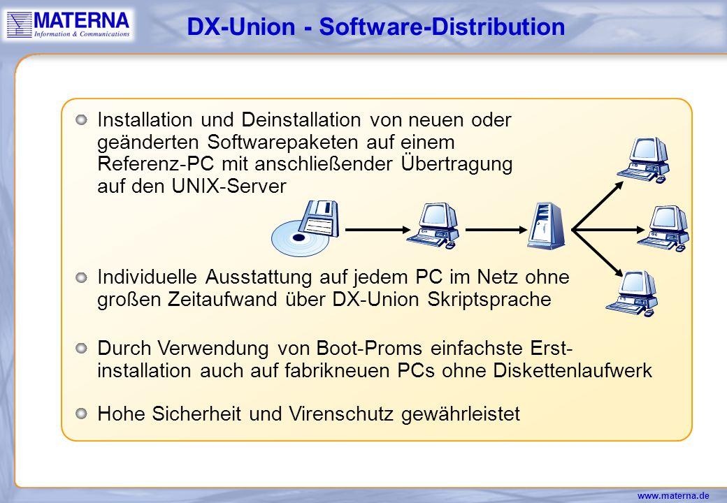 DX-Union - Software-Distribution