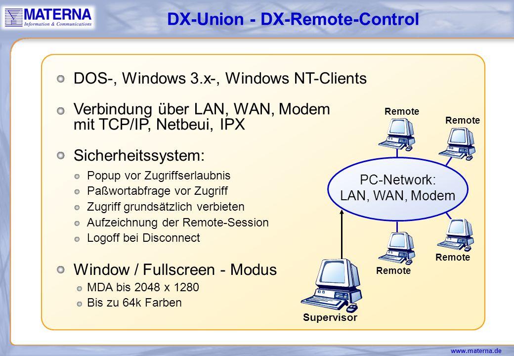 DX-Union - DX-Remote-Control