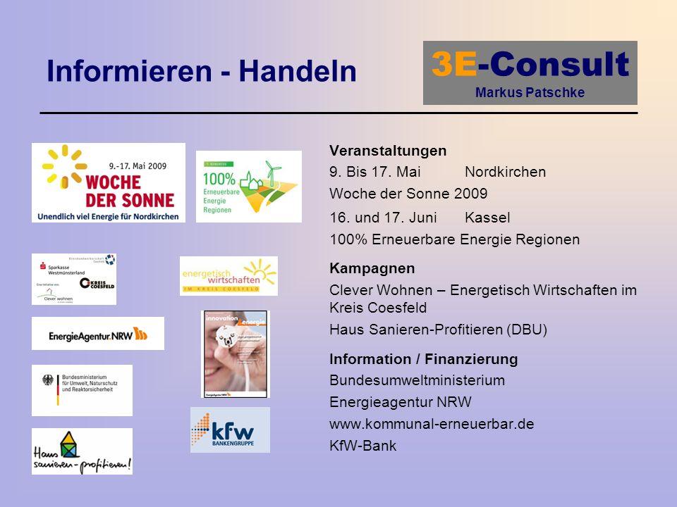 Informieren - Handeln Veranstaltungen 9. Bis 17. Mai Nordkirchen