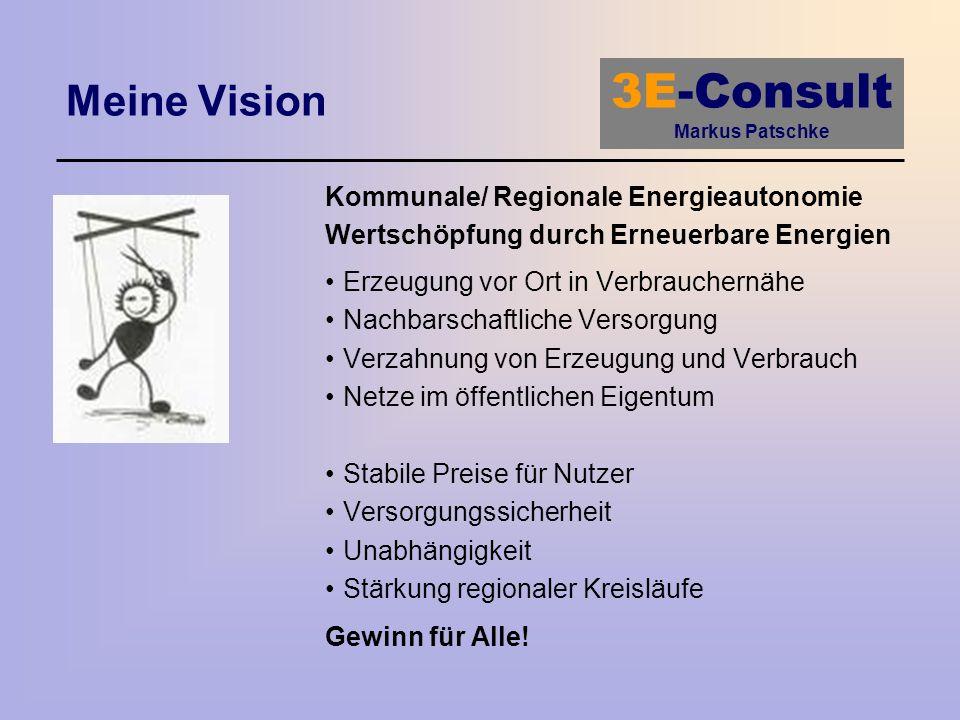 Meine Vision Kommunale/ Regionale Energieautonomie