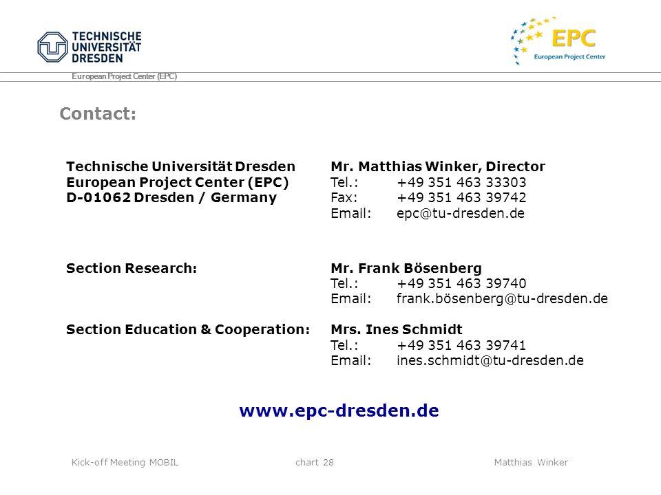 Contact: www.epc-dresden.de