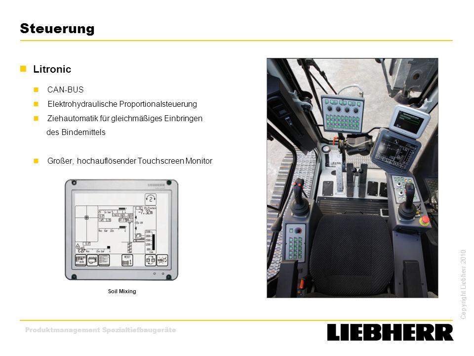 Steuerung Litronic CAN-BUS Elektrohydraulische Proportionalsteuerung