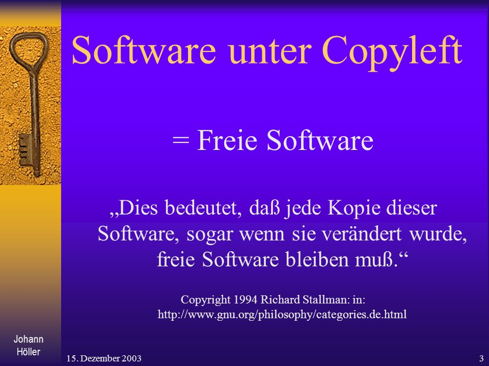Software unter Copyleft
