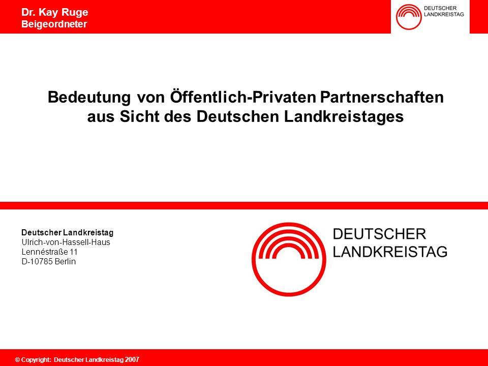 Öffentlich Private Partnerschaften (ÖPP)