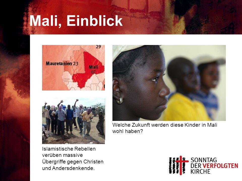 Mali, Einblick Welche Zukunft werden diese Kinder in Mali wohl haben