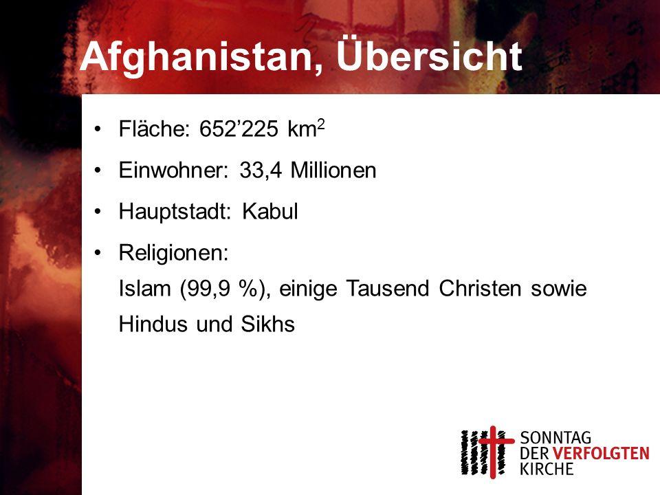 Afghanistan, Übersicht