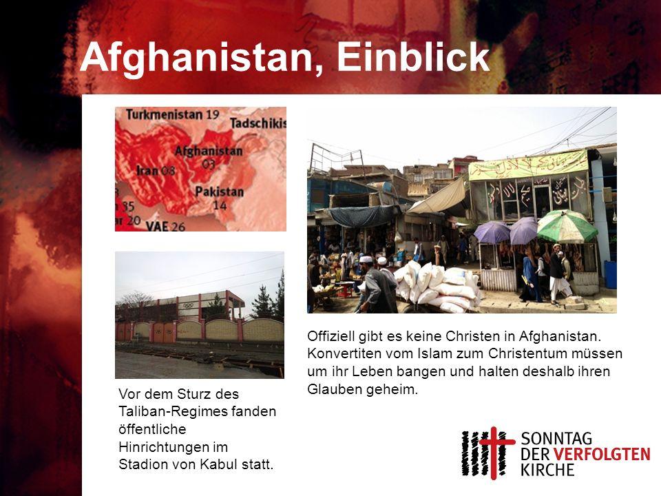 Afghanistan, Einblick