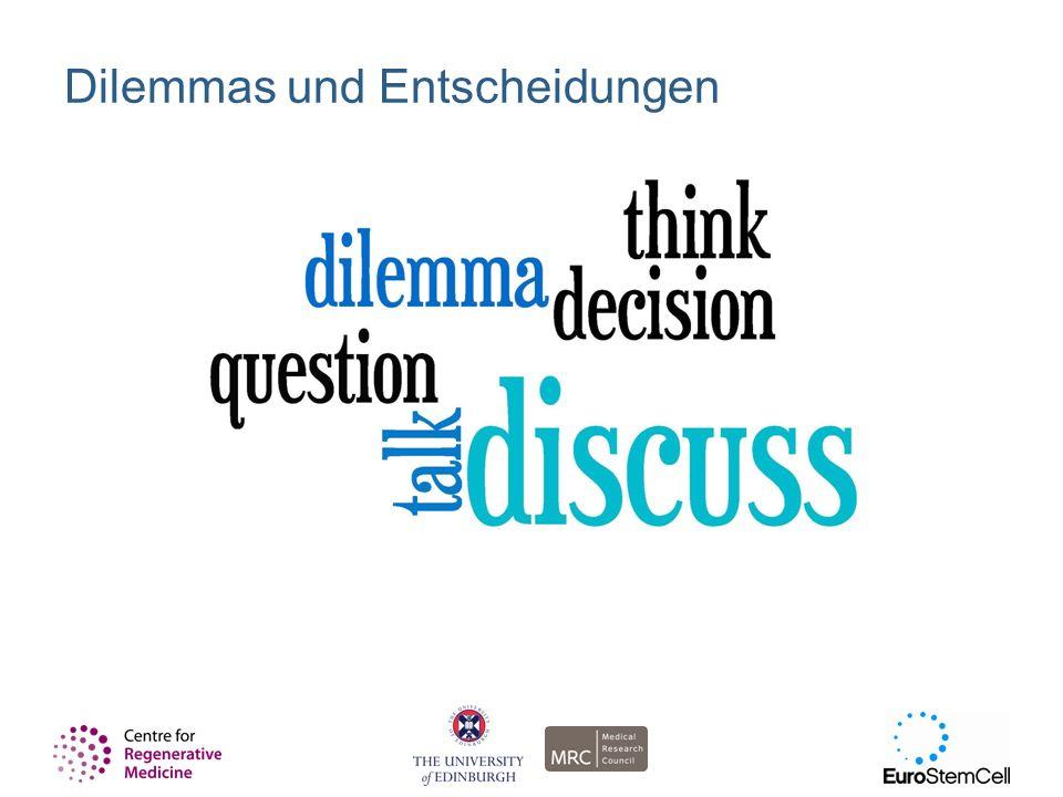 Dilemmas und Entscheidungen
