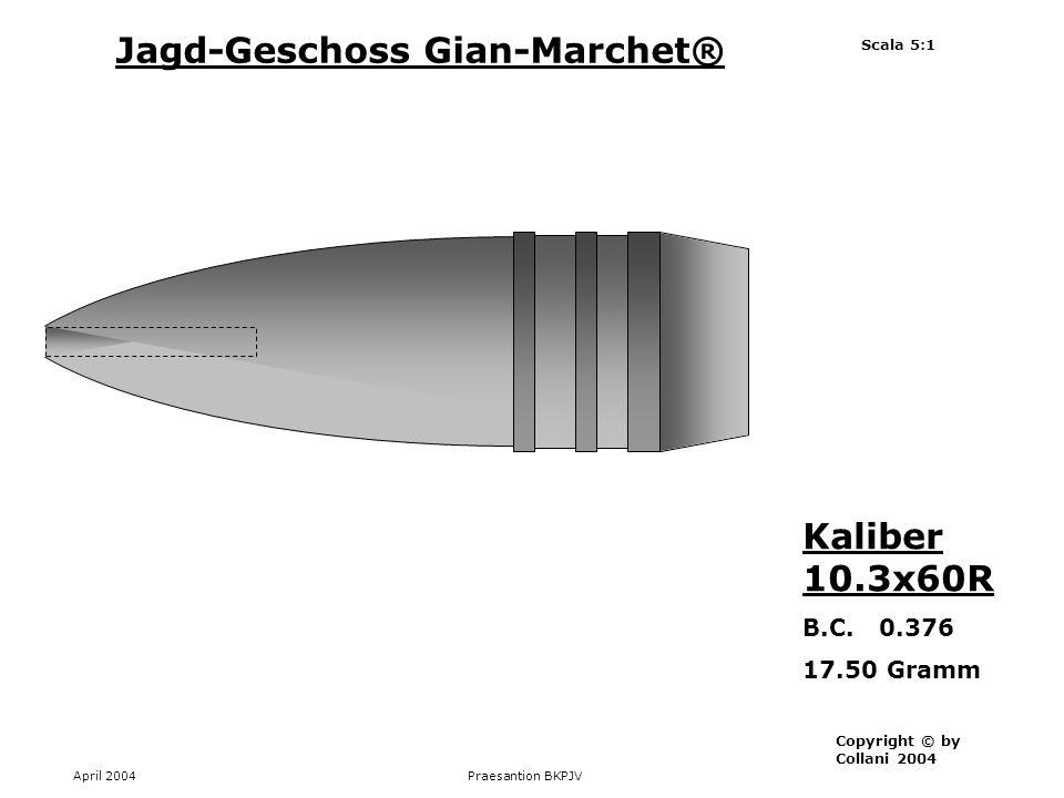 Jagd-Geschoss Gian-Marchet®