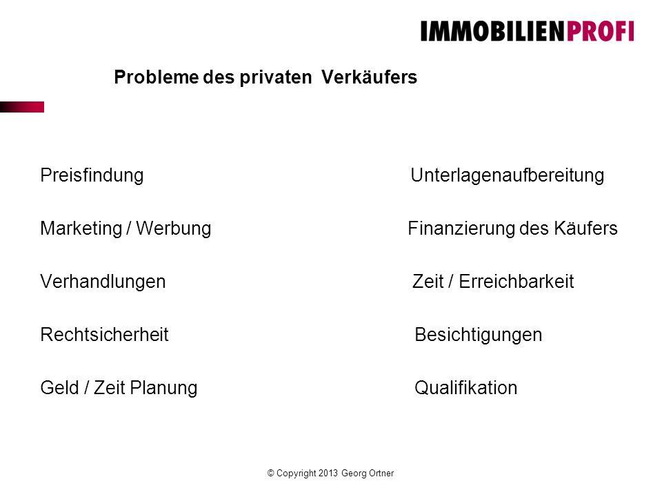 Probleme des privaten Verkäufers