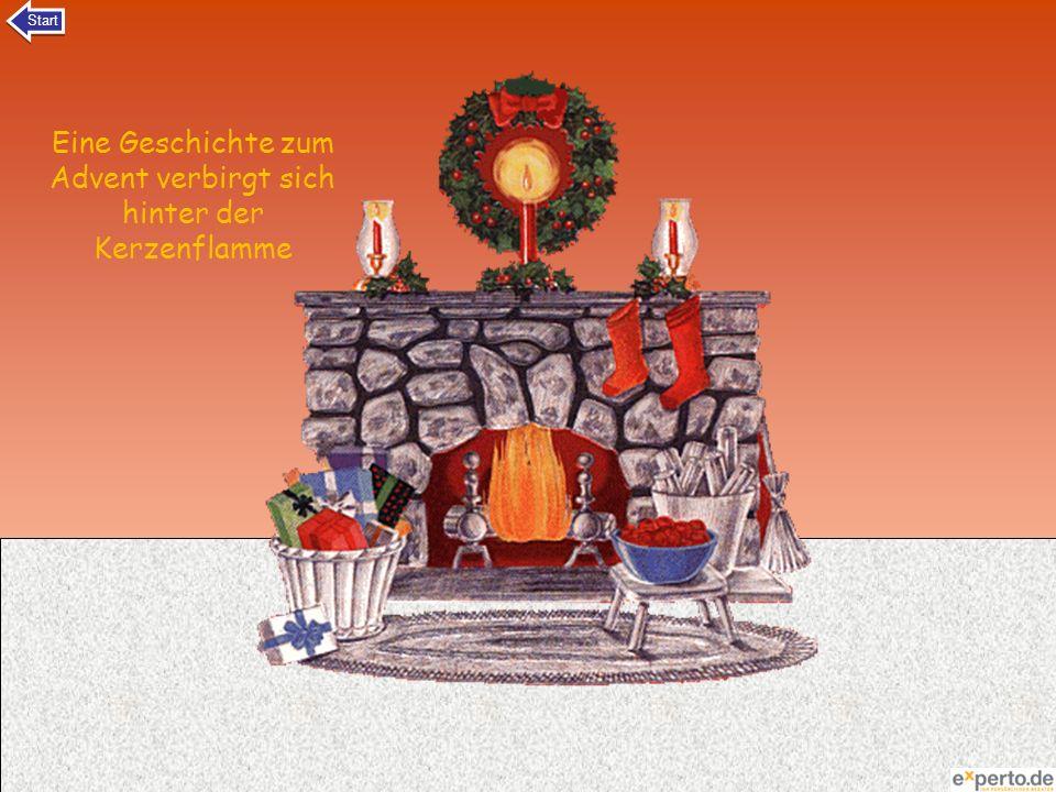 Eine Geschichte zum Advent verbirgt sich hinter der Kerzenflamme