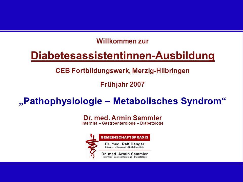 Diabetesassistentinnen-Ausbildung