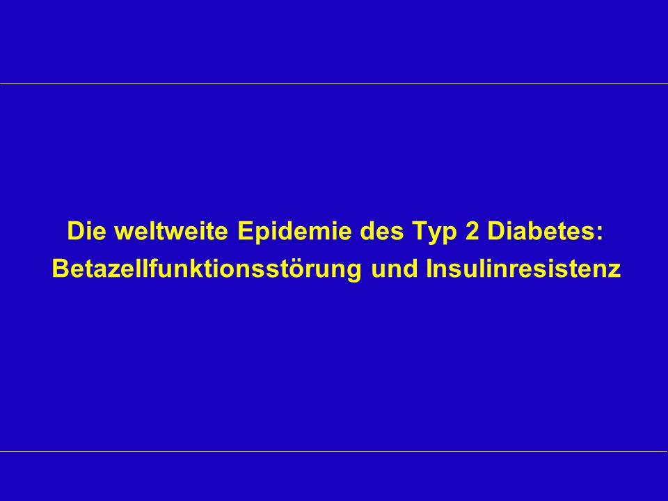 Die weltweite Epidemie des Typ 2 Diabetes: