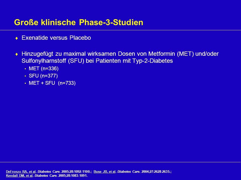 Große klinische Phase-3-Studien