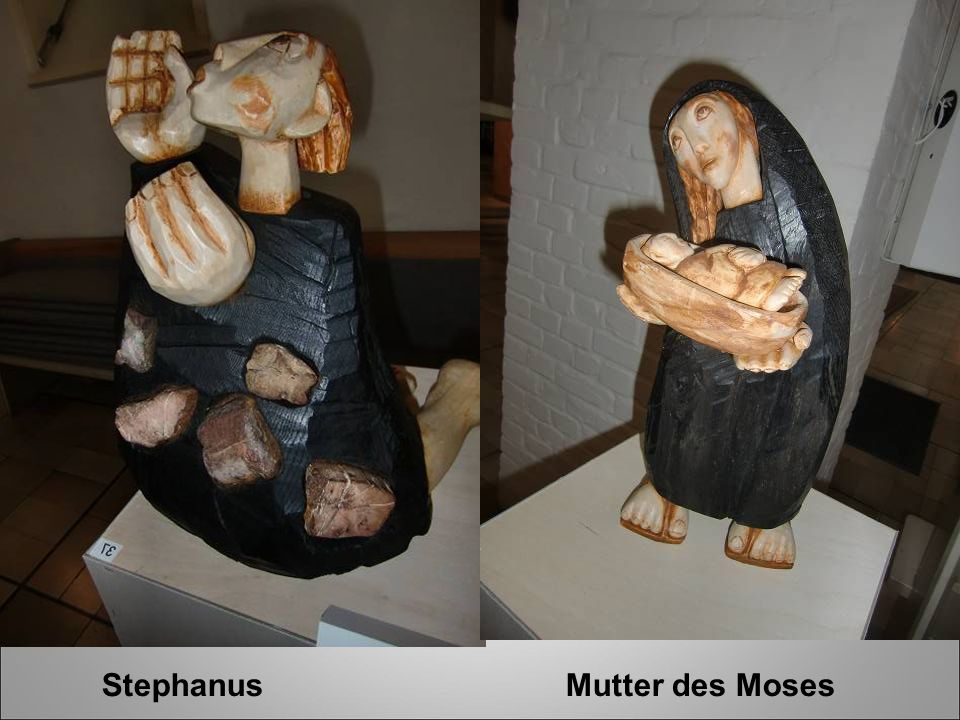 Stephanus Mutter des Moses