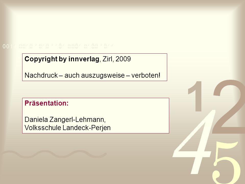 Copyright by innverlag, Zirl, 2009