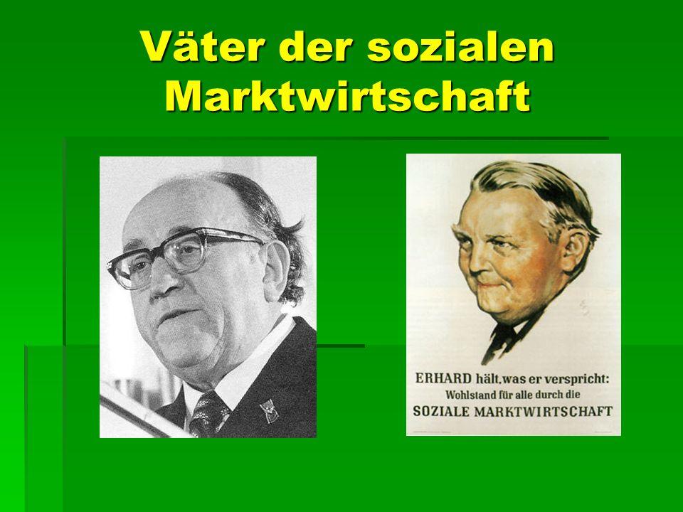 Väter der sozialen Marktwirtschaft