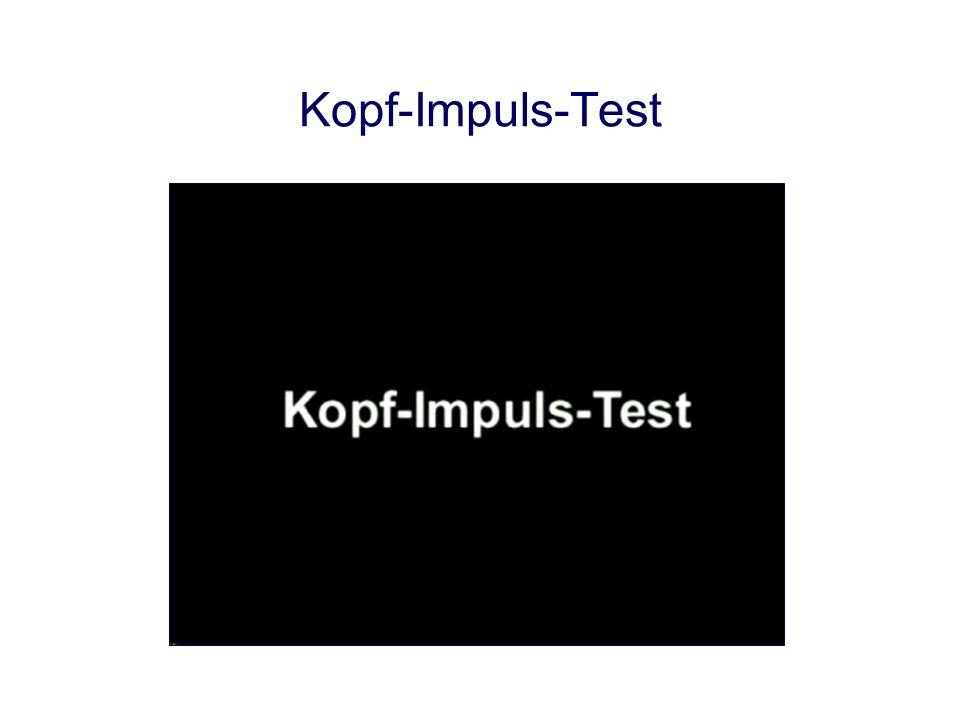 Kopf-Impuls-Test