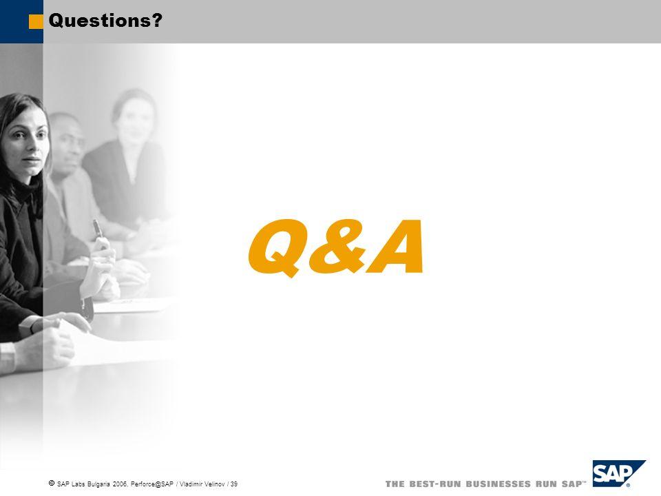 Questions Q&A