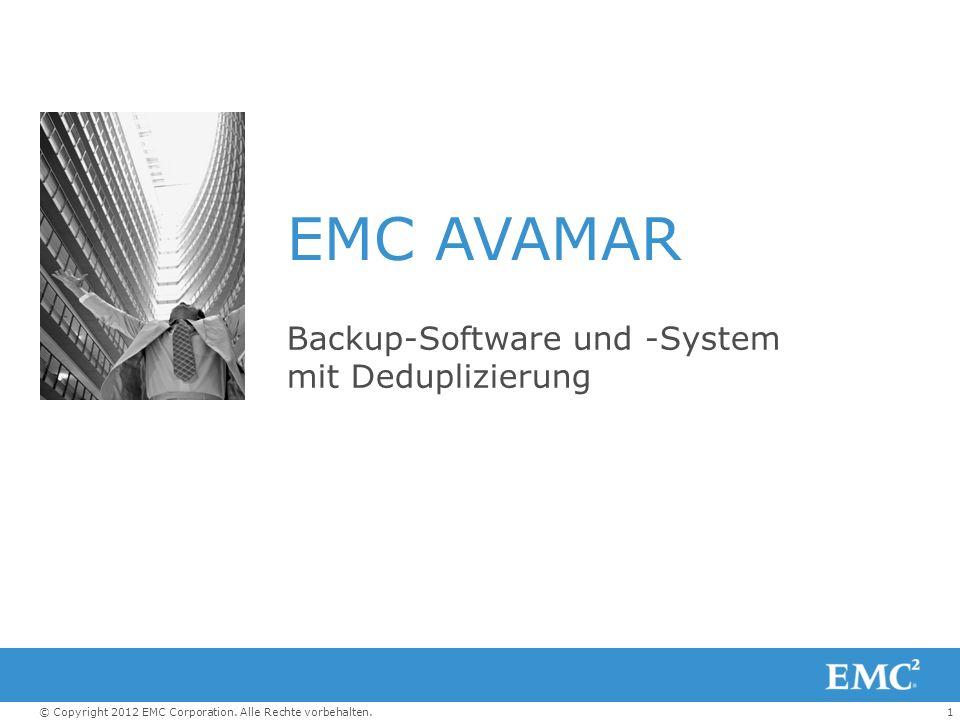 Backup-Software und -System mit Deduplizierung