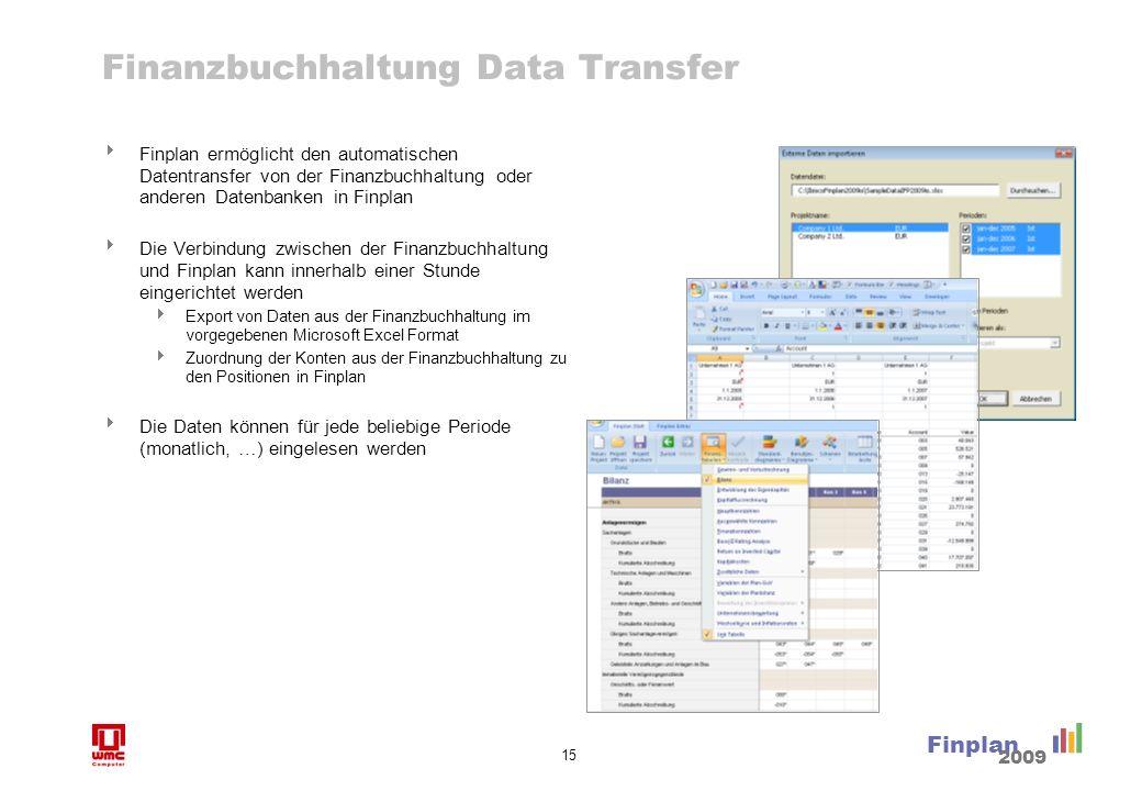 Vorteile von Finplan Im Vergleich zu selbst programmierten Lösungen in Excel hat Finplan viele Vorteile.