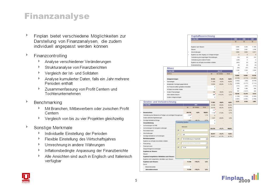 Finanzanalyse (Forts.)