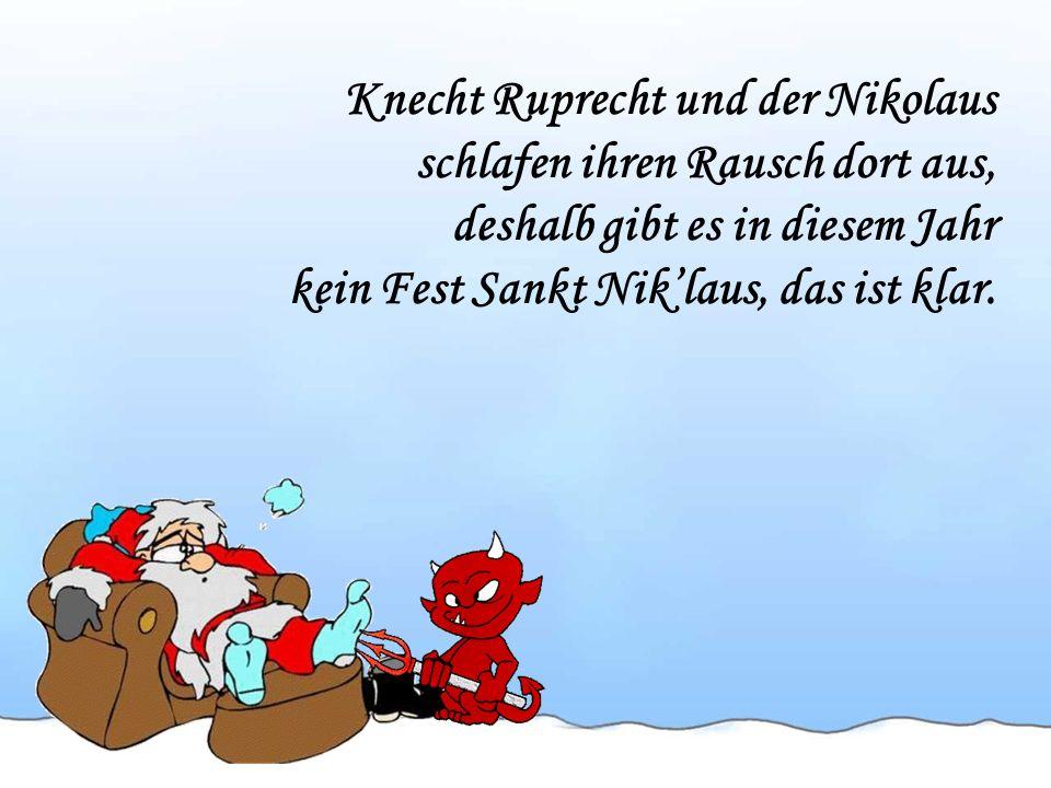 Knecht Ruprecht und der Nikolaus
