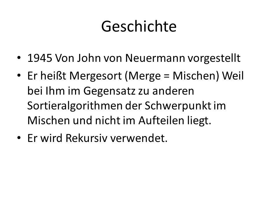 Geschichte 1945 Von John von Neuermann vorgestellt