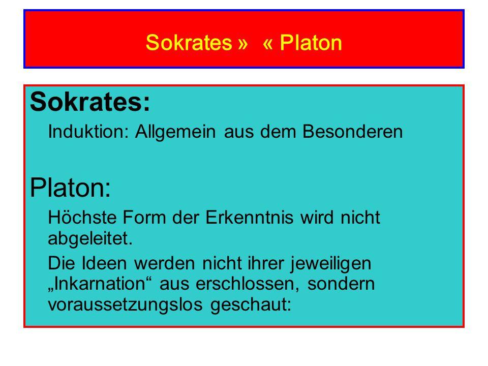 Sokrates: Platon: Sokrates » « Platon