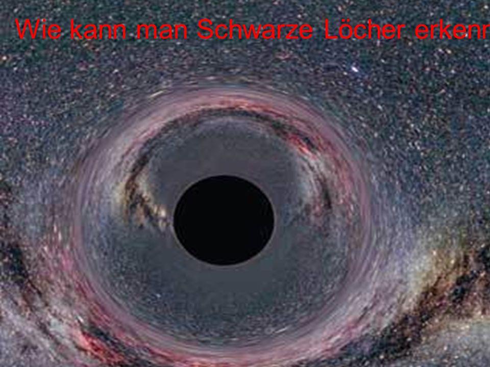 Wie kann man Schwarze Löcher erkennen