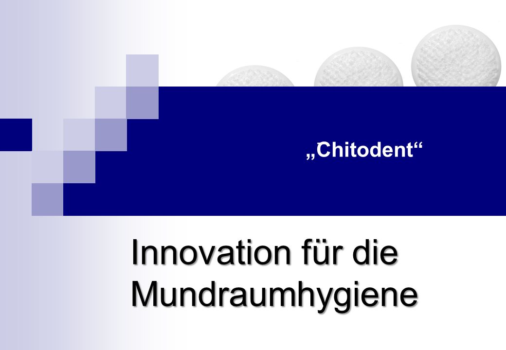 Innovation für die Mundraumhygiene
