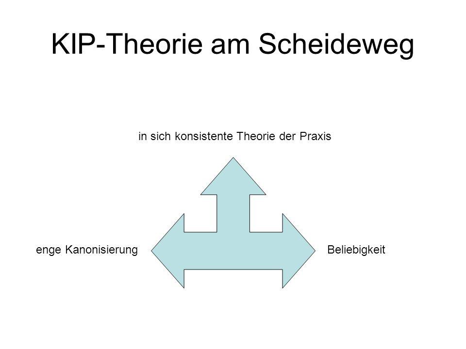 KIP-Theorie am Scheideweg