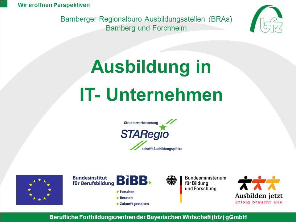 Bamberger Regionalbüro Ausbildungsstellen (BRAs)