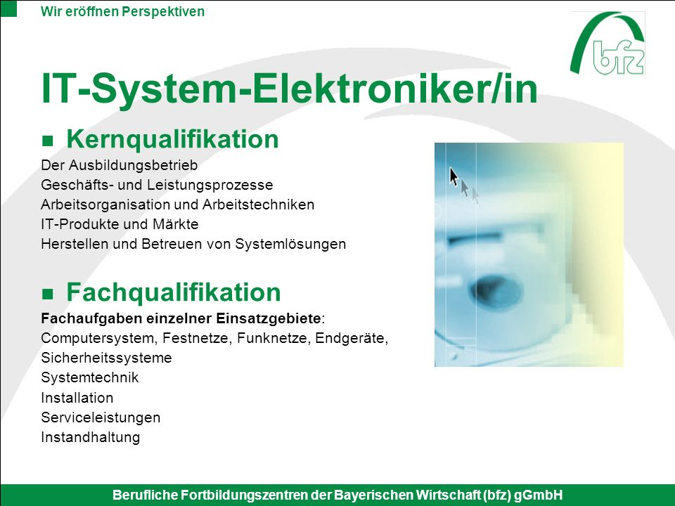IT-System-Elektroniker/in
