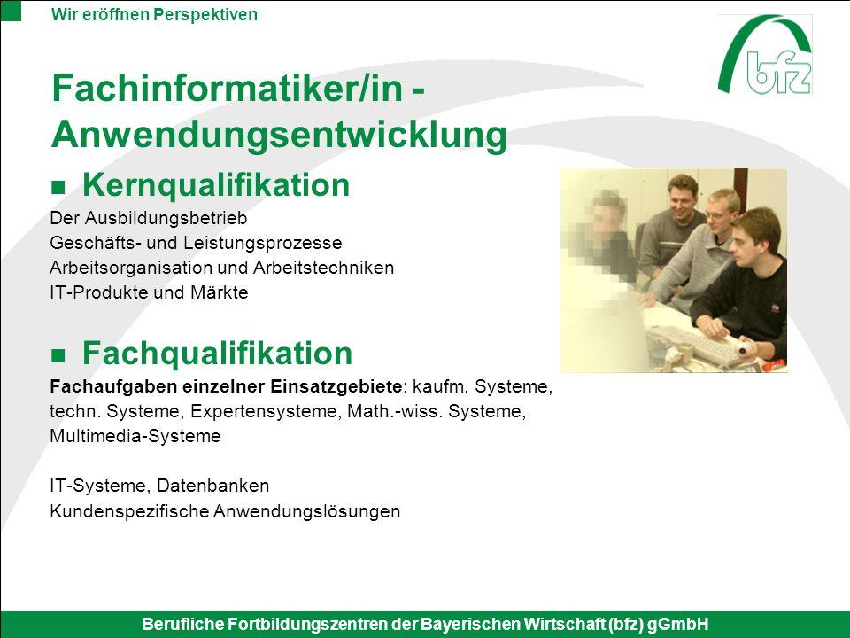 Fachinformatiker/in - Anwendungsentwicklung