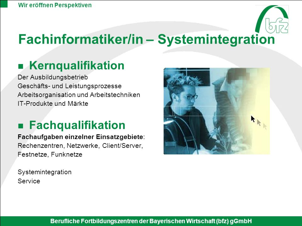 Fachinformatiker/in – Systemintegration