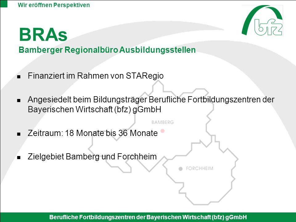 BRAs Bamberger Regionalbüro Ausbildungsstellen