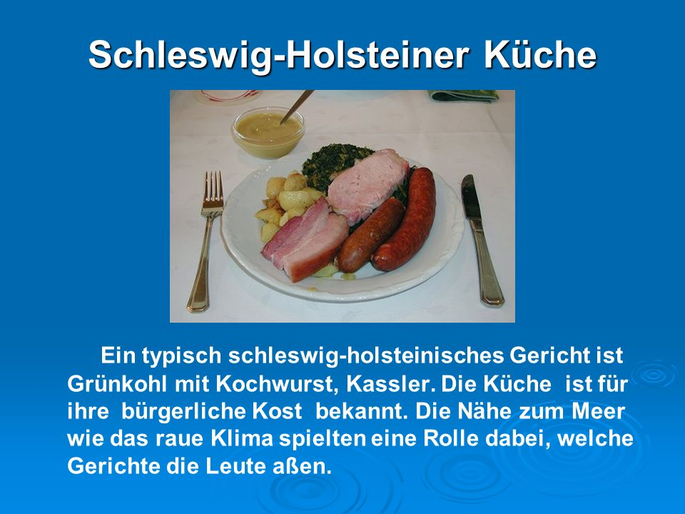 Schleswig-Holsteiner Küche