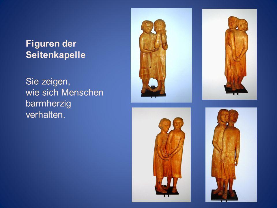 Figuren der Seitenkapelle