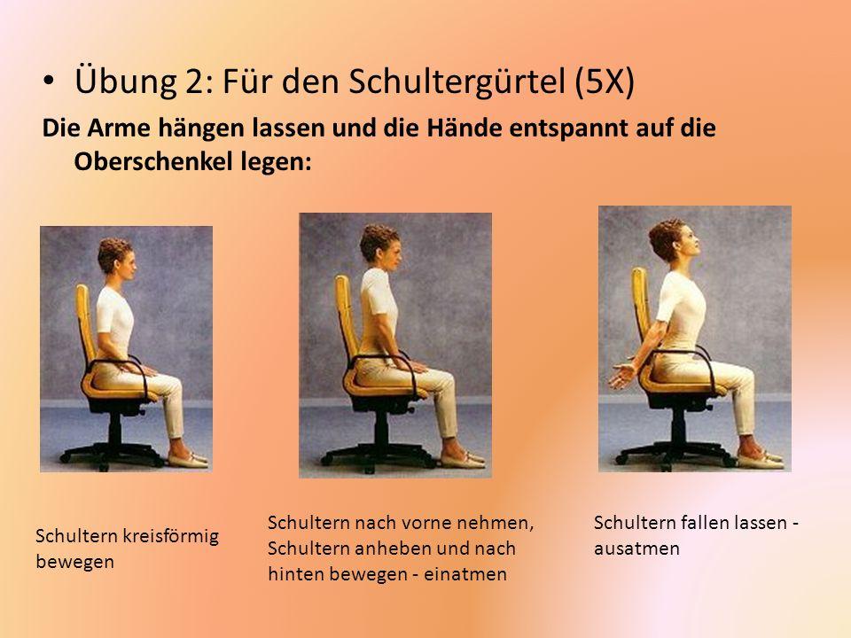 Übung 2: Für den Schultergürtel (5X)