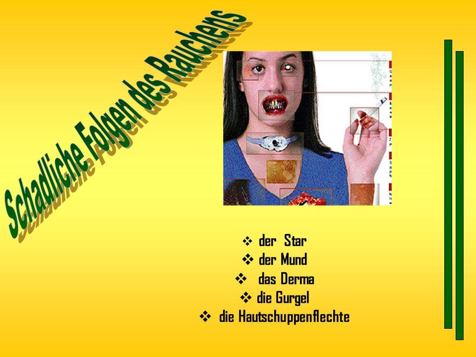Schadliche Folgen des Rauchens die Hautschuppenflechte