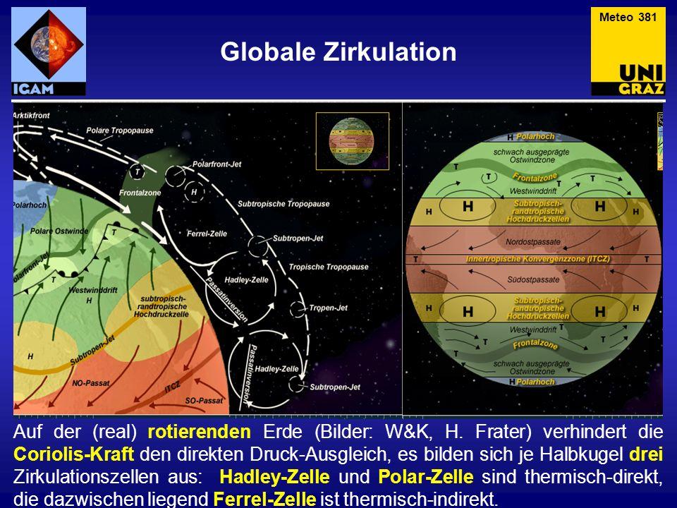 Meteo 381 Globale Zirkulation.