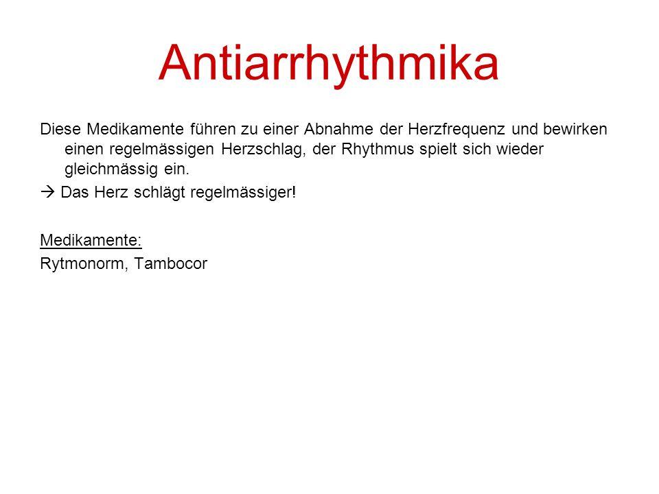 Antiarrhythmika