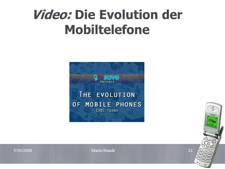 Video: Die Evolution der Mobiltelefone