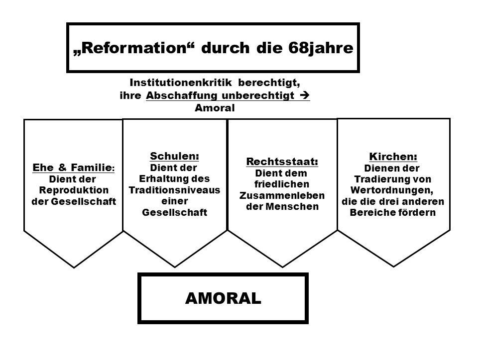 """""""Reformation durch die 68jahre"""